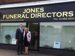 funeral director anlaby