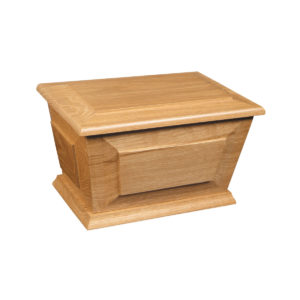 Amble ashes urn casket